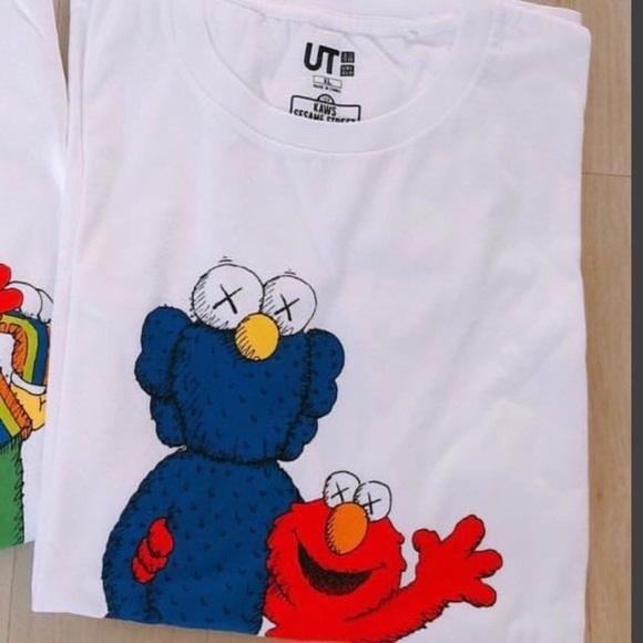 e13e3682f4a5 Uniqlo Shirts   Kaws X Sesame Street Collaboration T Shirt   Poshmark